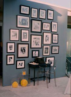 Photo wall! yup!