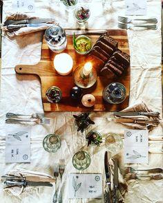 #dinner #goodpeople #newpeople #veganfood #tabledecor #natural #timewellspent #homerestaurant  #korilaseköök
