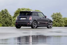 The new MINI JOHN COOPER WORKS GP rests up after a hard day's trailblazing.