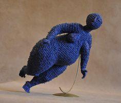 Поворот синий | artplatforma.ru
