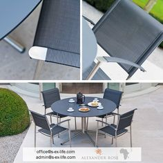 Enjoy your outdoor time on our Avant stacking chair! Small footprint and easy to move. Comfortable and perfect for a relaxed evening in the garden. In stock! Contact us!