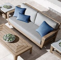 Cannes Collection  Natural Teak (Outdoor Furniture CG) | RH