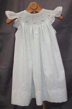 A sweet mint angel sleeve bishop.