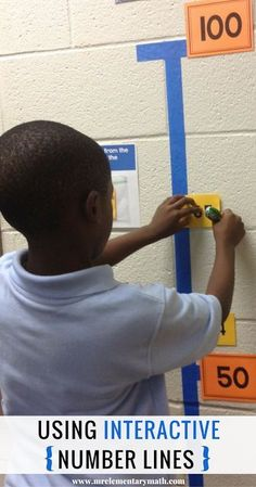Learn how to use interactive number lines in your classroom to teach whole numbers, fractions, and decimals. Use this fun and interactive math activity to develop conceptual understanding all students.
