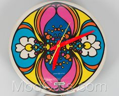 Groovy Peter Max clock.