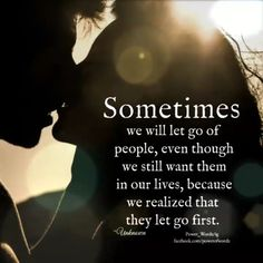 The process of letting go of someone you love is one of life's most painful experiences. One Love Quotes, Words Of Wisdom Quotes, Hurt Quotes, Love Yourself Quotes, Amazing Quotes, Quotes To Live By, Me Quotes, Qoutes, Letting Go Of Someone You Love