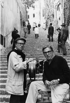 Paolo e Vittorio Taviani. Italian film directors and screenwriters.