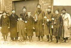 The photo shows a group of Jews Brzozowski just before the mass murder August 10, 1942.
