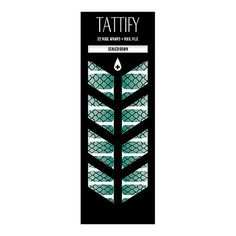Scaled Down Nail Wraps Set of 22 by Tattify on Etsy