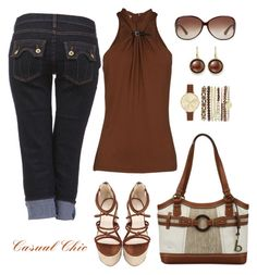 Untitled #1085 by gallant81 on Polyvore featuring polyvore, fashion, style, Michael Kors, b.o.c. Børn Concept, Jessica Carlyle, Roberto Coin, Gucci and clothing