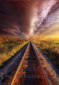 Walking The Line Till The Morning Shines in Wisconsin by Phil Koch