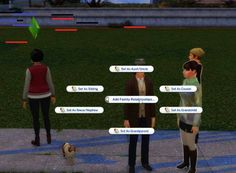 """Set Family Relationships Mod simsmodelsimmer: """" One of the features I love about MC Command Center is the ability to add relationships. It allows you to add siblings and parents to desired sims. Les Sims 4 Pc, Sims 4 Mm, Sims 4 Cas Mods, Sims 4 Body Mods, Die Sims 4 Packs, Sims 4 Cheats, Sims Challenge, Sims 4 Family, Sims 4 Traits"""