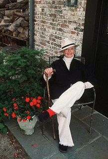 Katharine Hepburn, 1987. I would like to age as gracefully as Kate.