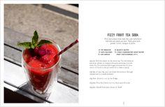 Fizzy Fruit Tea Soda
