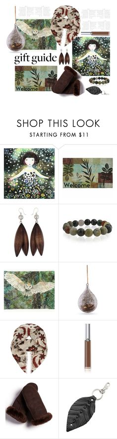 """""""Nature Lover'"""" by dianefantasy ❤ liked on Polyvore featuring Mohawk, Bling Jewelry, Napa Home & Garden, Sandro, Giorgio Armani, FRR, ILI, giftguide, polyvorecommunity and polyvoreeditorial"""