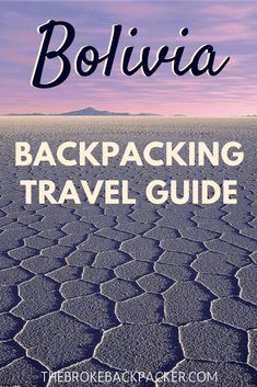 Bolivia is full of otherworldly landscapes such as the famous Salt Flats. Get all the details on backpacking Bolivia in this detailed guide. Backpacking South America, Backpacking Europe, South America Travel, South America Destinations, Europe Destinations, Holiday Destinations, Machu Picchu, Honduras, Ecuador