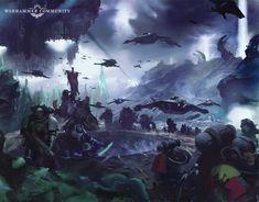 The Horus Heresy, Brazilian Deep Wave, Deathwatch, Warhammer 40k Art, Alien Races, Space Wolves, Space Marine, Environmental Art, Game Art