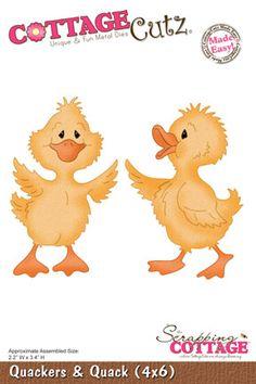 CottageCutz Quackers  Quack (4x6) PRE-ORDER