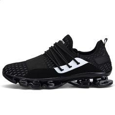 63647c33963 Outdoor Sportovní obuv 2018 Nový design Podrážky Běžecká obuv pro muže  Prodyšná odpružená Pánská Tenisky Athletic