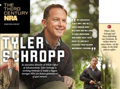 Third Century NRA • Sept. 10, 2013: NRA's Office of Advancement Executive Director Tyler Schropp works to defend our firearm freedoms.