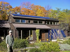 We started building our passive solar home in 1979 and are still making changes. The solar hot water heater was added in 2009 and the roof PV array in 2010. For more on the solar go to: www.distanthillgardens.org/our-solar-home/     this is exactly amazing!   http://theenergysolar.com