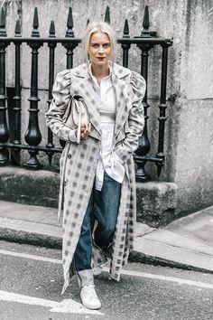 Street Style London. Febrero 2017