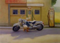 Kaj Stenvall - Fatboy and Son Finland Harley Davidson Motorcycles, Finland, Illustrators, Racing, Vehicles, Artist, Ducks, Postcards, Architecture