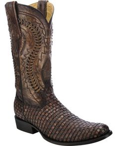 For the finest western boots and fashionable western footwear, the brand to trust is Corral Boots. These handcrafted Lizard Exotic Boots are made with high Mens Boots Fashion, Best Mens Fashion, Fashion Edgy, Western Boots, Cowboy Boots, Men's Shoes, Shoe Boots, Men Boots, Mens Braids
