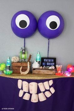 Love this TOMATOA TABLE - for a Moana Tomatoa Party - Moana Shiny Party based on the Realm of Monsters in Moana movie via @PagingSupermom