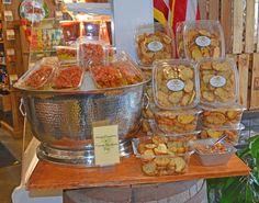 Featured Item-Asiago Provolone and Tomato Brushetta Duo and Joe Leone's Garlic Toast