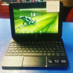 Tablette tactile Hp slatbook x2 sois android dispo #happyinfotel22 #happycashlannion #bonsplans #bonnesaffaires #hp #slate2 #tabtactile Dispo dans votre happycash Lannion depuis le January 13 2018 at 03:33PM