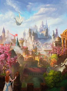 A fantasy kingdom I think I'd enjoy visiting