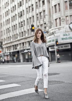 Bell Sleeve Outfit Ideas | POPSUGAR Fashion