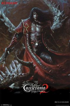 Castlevania Lords Of Shadow 2 - Dracula Game Poster