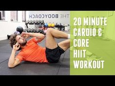 Here's a new fat burning HIIT workout. This one is fairly advanced and has a few high impact exercises. If you're new to HIIT workouts, try one of my low imp. Hiit At Home, Ab Workout At Home, Workout Plans, Workout Ideas, Intense Cardio Workout, Cardio Abs, Interval Workouts, What Is Hiit, Cardio Workouts
