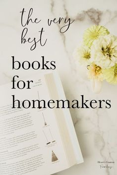Sometimes theres nothing like a real, old fashioned book to educate and inspire you. Whether youre a beginning homemaker, or more experienced and just need some motivation, these great homemaking books belong on your shelf. #homemaking