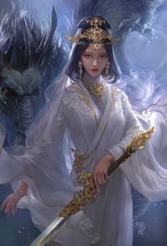 art, fantasy, and girl image Fantasy Girl, Chica Fantasy, 3d Fantasy, Fantasy Kunst, Fantasy Warrior, Fantasy Women, Anime Fantasy, Fantasy Princess, Fantasy Books