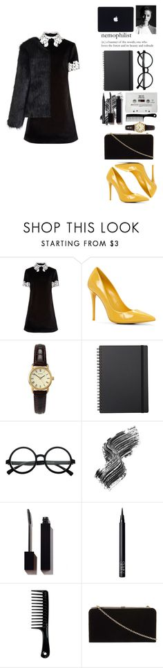"""..."" by olive0live ❤ liked on Polyvore featuring macgraw, ALDO, Sekonda, Muji, Blink, Illamasqua, NARS Cosmetics, Dorothy Perkins and Chicwish"