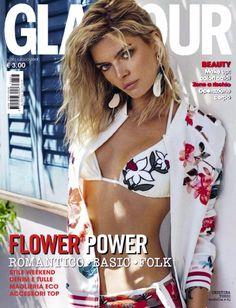 Cristina Tosio by Xavi Gordo for Glamour Italia July 2017