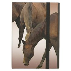 Grazing Horses Cover For iPad Air