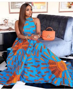 African Clothing/ Ankara Top / Ankara Flare Blouse/ African Print/ Ankara Fabric by laviye - 2019 Dresses, Skirt, Shirts & African Print Dresses, African Fashion Dresses, African Dress, Ankara Fashion, African Prints, African Attire, African Wear, African Women, African Image