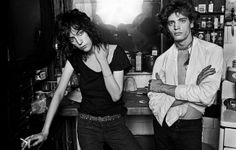 Patti Smith and Robert Mapplethorpe by Norman Seeff