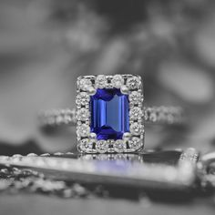I wear my wedding ring. We talk about when we're going to get married again, which we hope is going to take place some time in this incredibly hectic calendar year. Tanzanite Rings, Tanzanite Engagement Ring, Sapphire Rings, Diamond Rings, Engagement Rings, Wedding Ceremony, Wedding Rings, Wedding Moments, Favorite Things