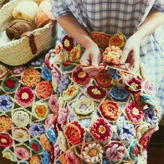 Little Treasures: Crochet Flower Inspiration