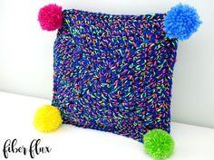 Free Crochet Pattern...Party Time Mini Pillow!