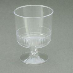 40-x-Wine-Glasses-Cups-on-Stem-Disposable- for individual triffles