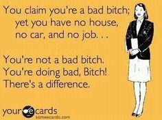 YOU are a LOSER no job no house!!! Hahahahah. Oh this is sooooo fitting!