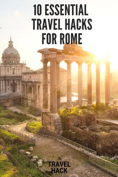 Michele is sharing her top travel tips and travel hacks for Rome. She's shared lots of simple insider travel tips to make your trip to Rome easier. These Rome travel tips will save you time and money and make your trip to Rome as hassle free as possible!