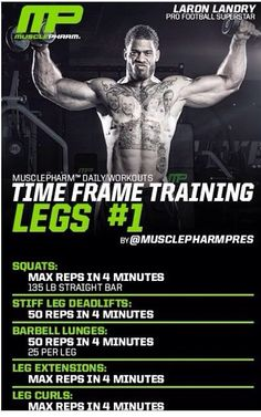Time frame training legs 1