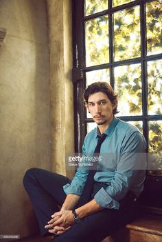 Actor <a gi-track='captionPersonalityLinkClicked' href=/galleries/search?phrase=Adam+Driver&family=editorial&specificpeople=7131793 ng-click='$event.stopPropagation()'>Adam Driver</a> is photographed for Vogue Magazine on October 4, 2012 in New York City.